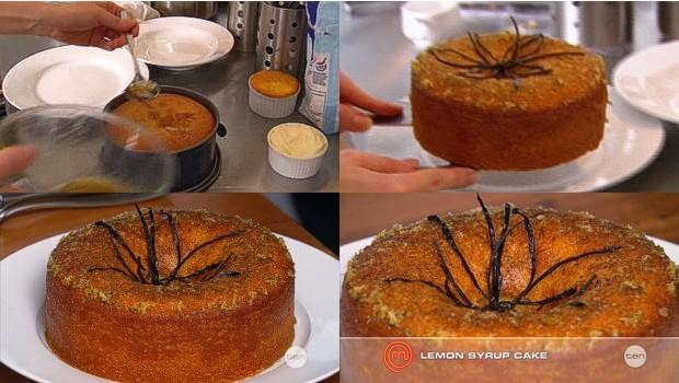 Julia's Sunken Lemon Syrup Cake
