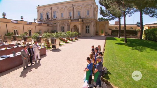 Villa Aurelia, Rome