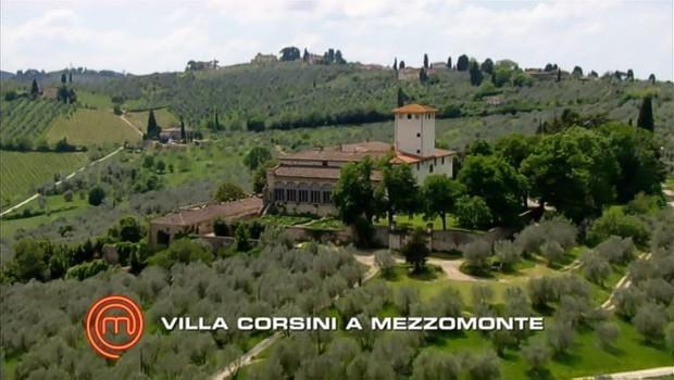 Immunity Challenge at Villa Corsini a Mezzomonte