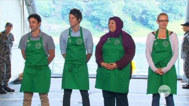 Celebrity chef challenge masterchef australia all stars