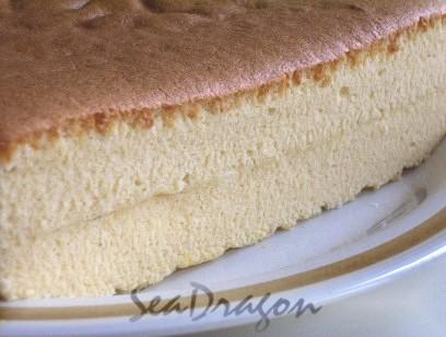 Vanilla Ogura Love Cake - texture