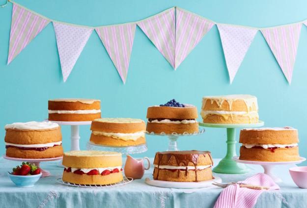 AWW Australia's Sponge Cake Queen Promotion 2012