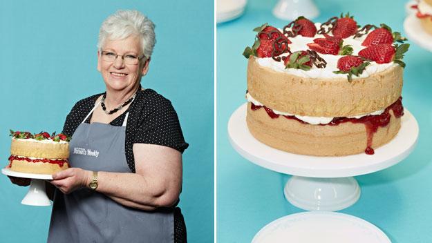 Top 8 sponge cakes from aww australia s sponge cake queen for Best queen cake recipe