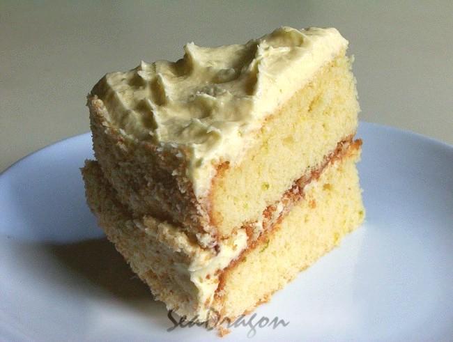 Coconut & Lime Cake | Corner Café