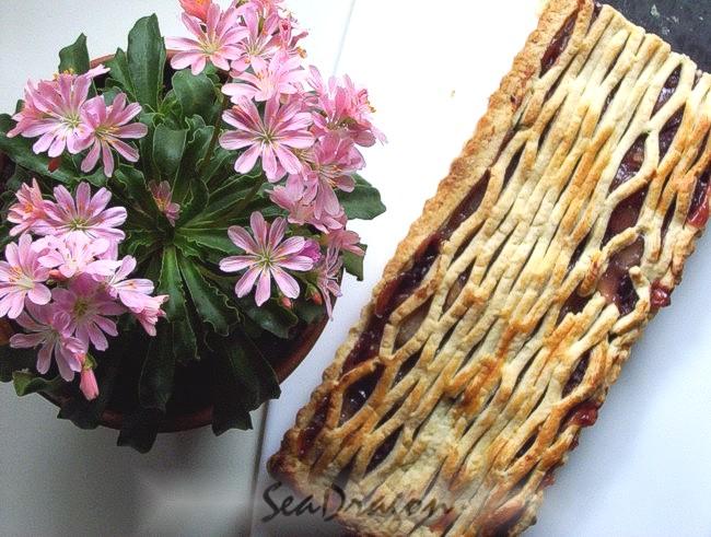 Tart Cherry & Apple Pie 10