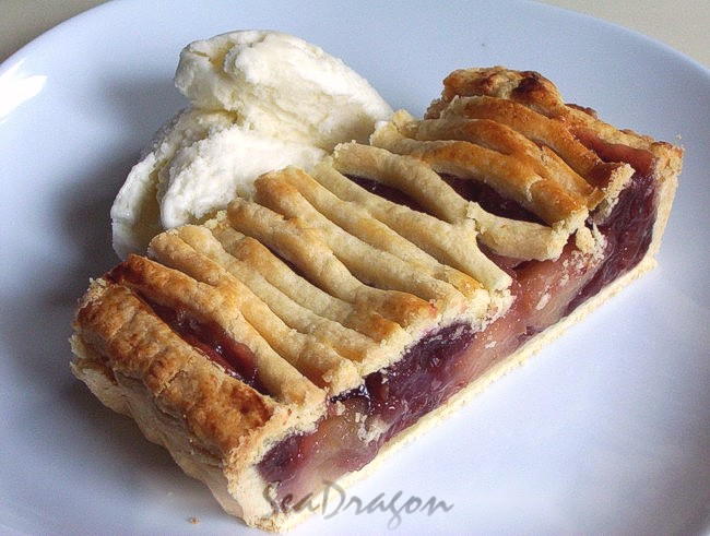 Tart Cherry & Apple Pie 11