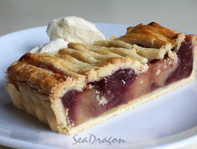 Tart Cherry & Apple Pie 13