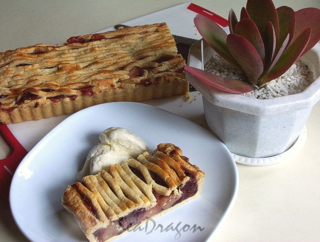 Tart Cherry & Apple Pie 15