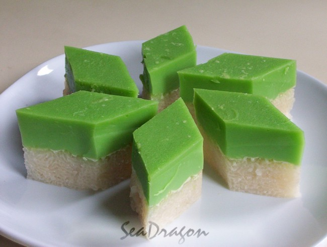 Kuih Salat Firm Custard Rice Cake Corner Caf 233