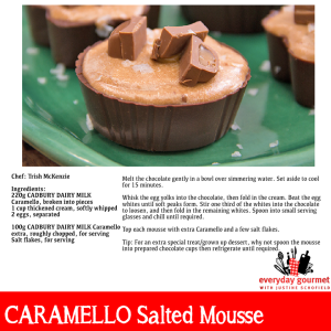 Caramello Salted Mousse