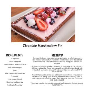 EG4EP30 Chocolate Marshmallow Pie