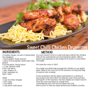 Sweet Chilli Chicken Drumettes