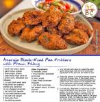 Acaraje Black-Eyed Pea Fritters with Prawn Filling (Adrian Richardson)