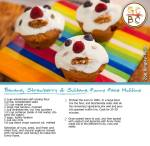 Banana, Strawberry and Sultana Funny Face Muffins (Zoe Bingley-Pullin)