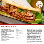 BBQ Pork Rolls (Adrian Richardson)