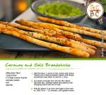 Caraway and Salt Breadsticks (Adrian Richardson)