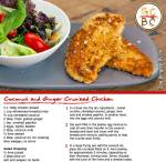 Coconut and Ginger Crumbed Chicken (Zoe Bingley-Pullin)