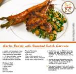 Garlic Rabbit with Roasted Dutch Carrots (Zoe Bingley-Pullin)