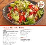Greek Avocado Salad (Zoe Bingley-Pullin)