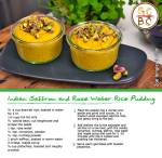 Indian Saffron and Rose Water Rice Pudding (Zoe Bingley-Pullin)