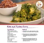 Kale and Turkey Curry (Zoe Bingley-Pullin)