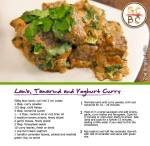 Lamb, Tamarind and Yoghurt Curry (Zoe Bingley-Pullin)