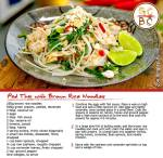 Pad Thai with Brown Rice Noodles (Zoe Bingley-Pullin)