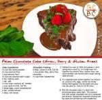 Paleo Chocolate Cake (Grain, Dairy & Gluten Free) (Zoe Bingley-Pullin)