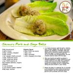 Savoury Pork and Sago Balls (Zoe Bingley-Pullin)