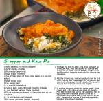 Snapper and Kale Pie (Zoe Bingley-Pullin)