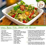 Warm Asian Tofu Salad with Quinoa (Zoe Bingley-Pullin)