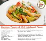 Zucchini, Tomato and Chili Wholemeal Penne (Adam Swanson)