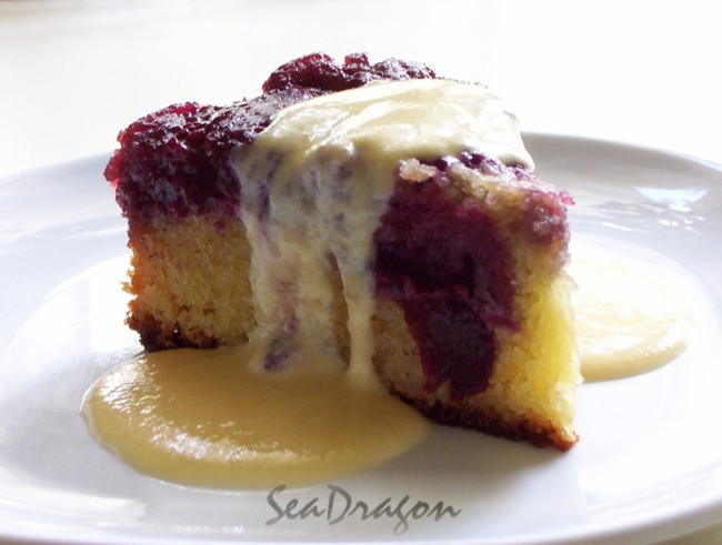 Upside-Down Plum Cake (1/5)