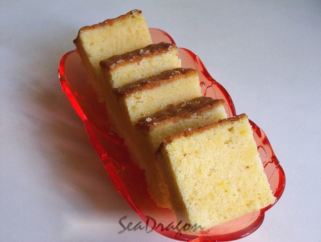 Orange Almond and Sour Cream Buttercake 06